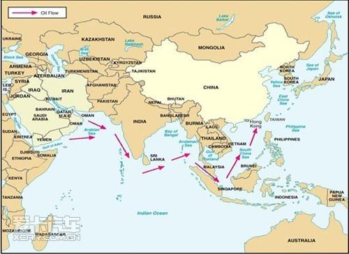 石油路线图