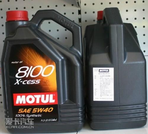 Motul 8100 X-CESS机油