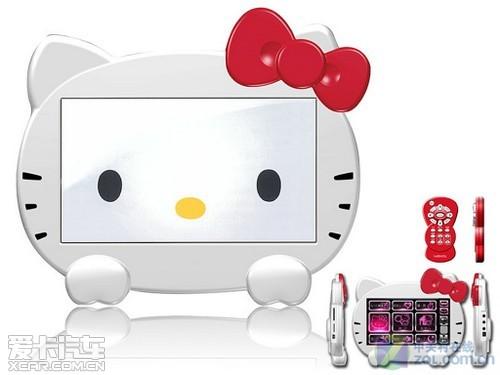 日本推出Hello Kitty GPS