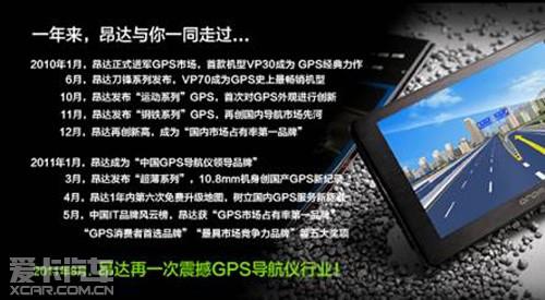 昂达再次震撼GPS业界