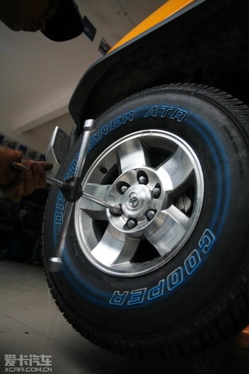 勿让汽车轮胎带病工作