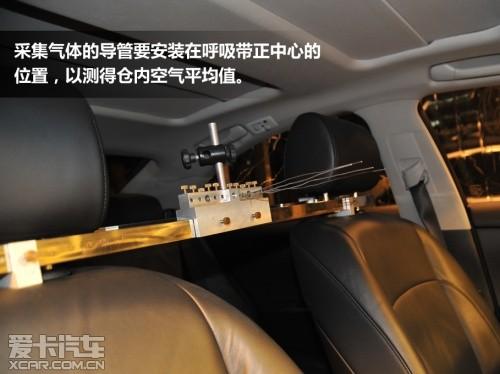 不再是个迷 爱卡探访车内空气质量试验