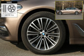 宝马5系2019款轮胎/轮毂缩略图