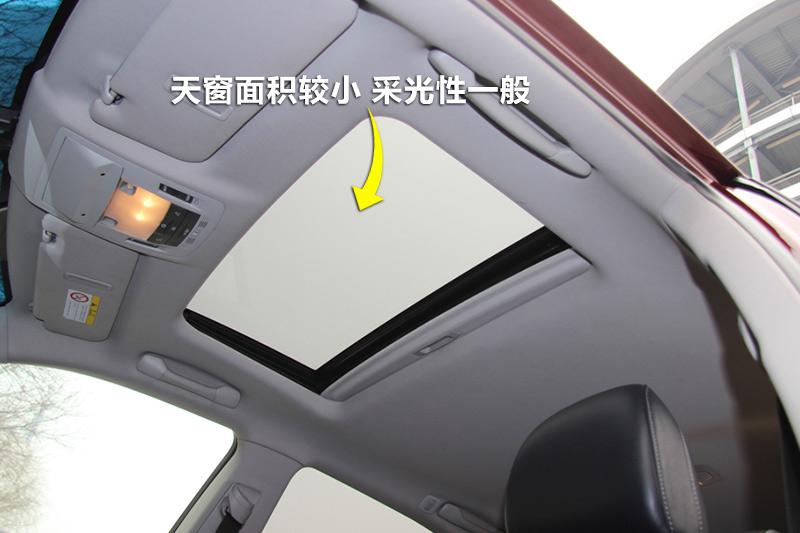2013款雷克萨斯rx270 豪华版天窗 雷克萨斯rx全车详解 高清图片