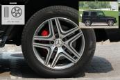 奔驰G级AMG2013款轮胎/轮毂缩略图