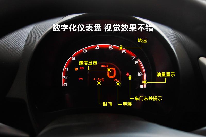 奇瑞qq3仪表盘图解高清图片