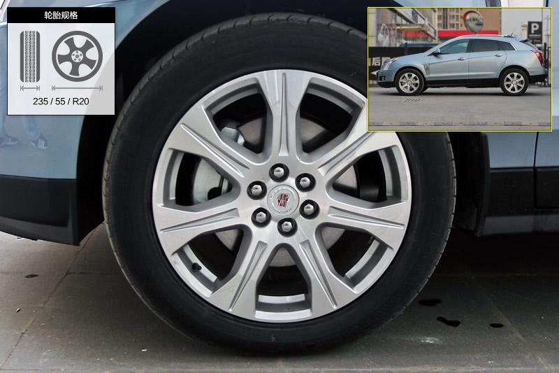 凯迪拉克 srx 领先版 轮胎 轮毂 高清图片