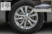 天籁2013款轮胎/轮毂缩略图