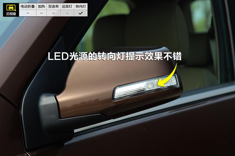 2014款五菱宏光S 1.5L 手动豪华型后视镜 五菱宏光细节高清图片