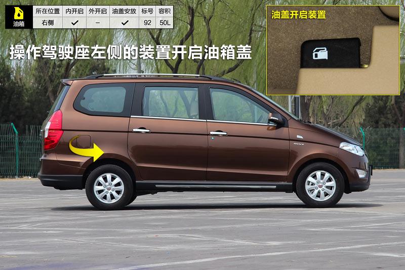 2014款五菱宏光S 1.5L 手动豪华型油箱盖 五菱宏光细节高清图片