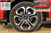 本田XR-V2015款轮胎/轮毂缩略图