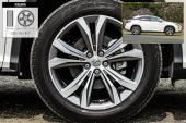 雷克萨斯RX2016款轮胎/轮毂缩略图