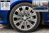 奔驰E级2017款轮胎/轮毂缩略图