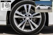 奔驰C级2017款轮胎/轮毂缩略图