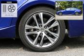 雷克萨斯IS2017款轮胎/轮毂缩略图