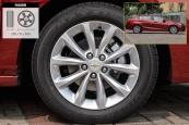 科鲁兹三厢2018款轮胎/轮毂缩略图