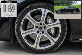 奔驰E级2018款轮胎/轮毂缩略图
