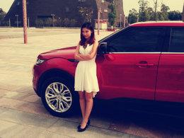 美女配爱车 体验幸福小生活