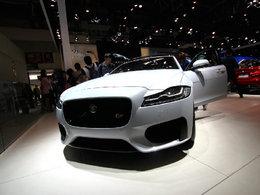 北京车展上的新款捷豹XF