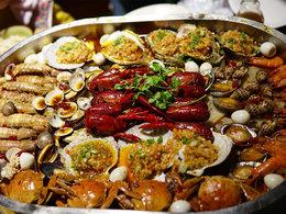海鲜总动员 饕餮美食让人食指大动