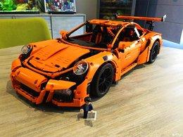 高度还原 LEGO 42056保时捷车模