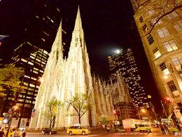 散发魅力 纽约的夜晚璀璨夺目