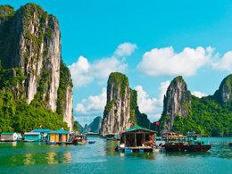 秀美风光 爱上越南的与世无争