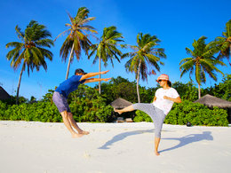 天光云影 在马尔代夫自由翱翔