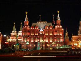 喷泉之都 莫斯科充满艺术气息