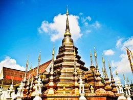 骄阳似火 体验质朴的泰国生活