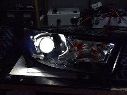 亮瞎眼 B50升级海拉五透镜大灯
