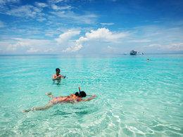 海上桃源 菲律宾妈妈岛潜水玩沙