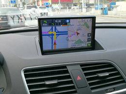 自已动手 奥迪Q3安装高清导航屏幕