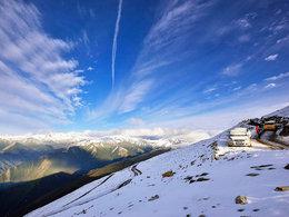 去高海拔达瓦更扎 感受震撼美