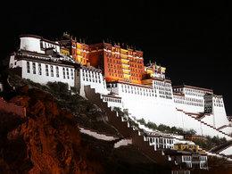 梦中天堂 难述西藏的壮观景色