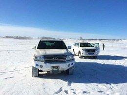 穿越乌兰布统 寻找雪地的快乐