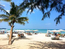 细沙蓝天 泰国普吉岛欢乐时光