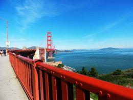 地标建筑 旧金山金门大桥随拍