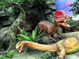 侏罗纪时代 畅游北京恐龙公园