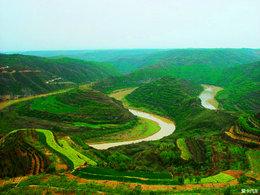 沟壑纵横 用相机描述黄土高原
