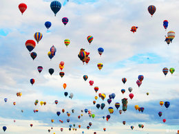 放飞梦想 享新墨西哥热气球节