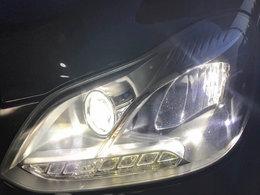 实用为主 奔驰E260L改氙气大灯