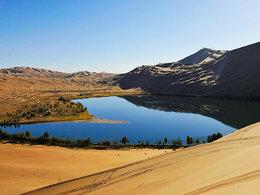 历经艰险 穿越巴丹吉林大沙漠