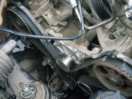 荣威750 2.5V6发动机更换正时皮带水泵套装