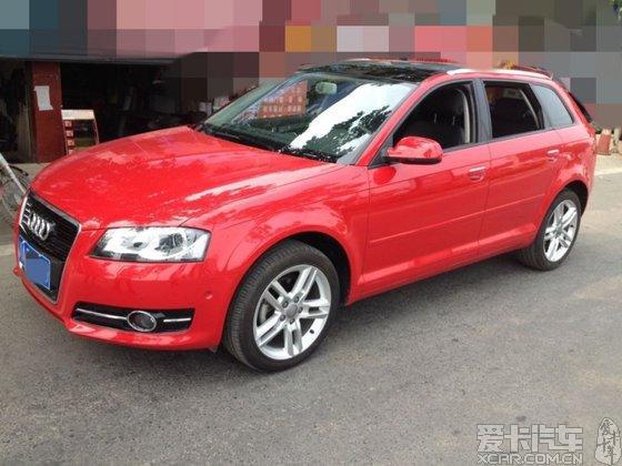 奥迪a3两厢 2012款 sportback 1.4t 豪华版