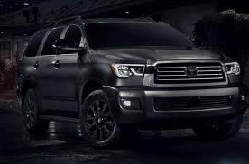 丰田红杉特别版美国开售 5.7L V8大排量自吸 越野感满满