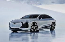 上海车展首发,或将率先国产,奥迪A6 e-tron概念车官图