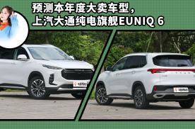 预测本年度大卖车型,上汽大通纯电旗舰EUNIQ 6