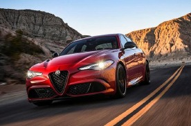 Giulia四叶草高性能版3.9s破百,售价 97.98万