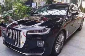 红旗H9混动车型曝光,预售价不超30万?却只是少个配色!